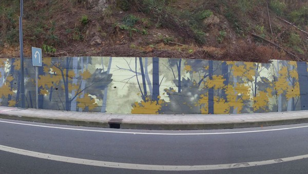 Wallart Amorebieta Bosque