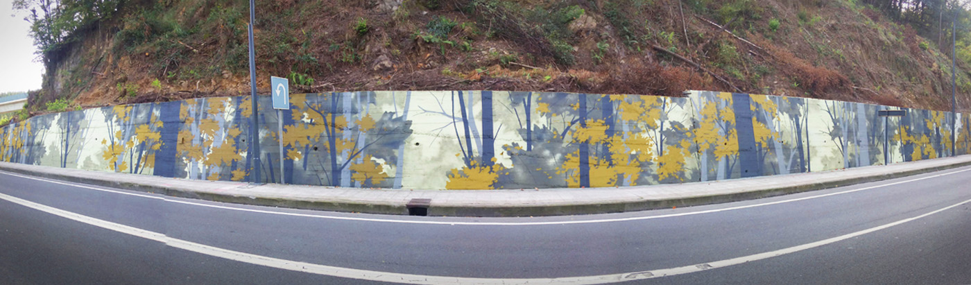 Wallart Amorebieta Bosque Panoramica W